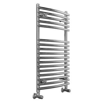 800 x 500 mm Designer Curved Towel Rail Ladder Radiator
