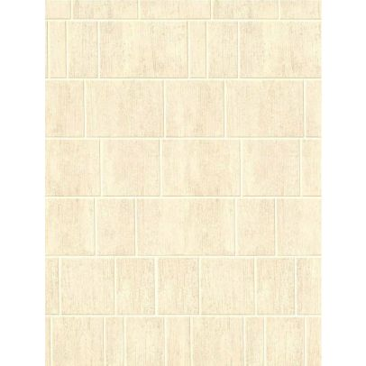 Trena Panel PVC  Beige Tile Cladding Wall 1000mm x 2400mm x 10mm (Pack Of 1)