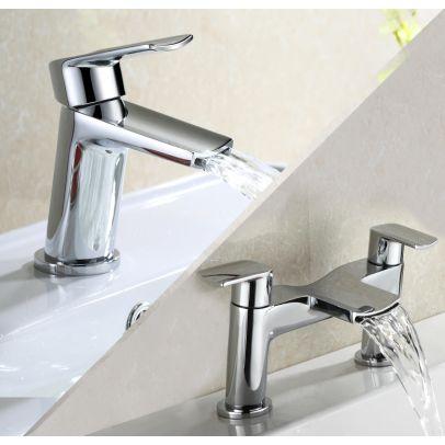 Centa Basin Mixer & Bath Filler Tap