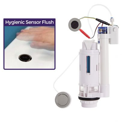 Nex Sensorflow No Touch Infra Red Sensor Flush Button