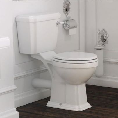 Astley Close Coupled Toilet, Soft Close Seat and Cistern