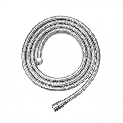 2M STAINLESS STEEL DOUBLE LOCK SHOWER HOSE