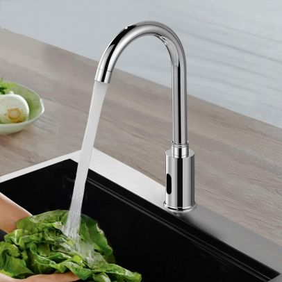 Automatic Touchless Infrared Sensor Kitchen Sink Mixer Tap