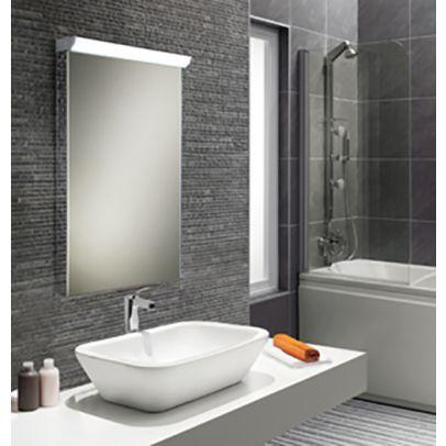 Hib Sonic Bathroom Led Modern Illuminated Mirror