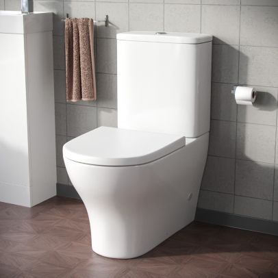 Tadley Close Coupled Toilet with Soft Closing Seat