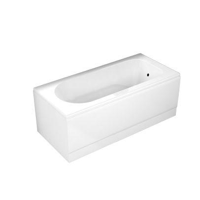 Mildenhall 1500 X 700 Straight Standard Bathroom Acrylic Round White Bath