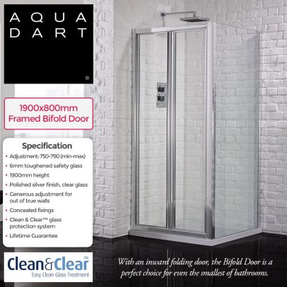 Aquadart Venturi 6 bifold door 800mm