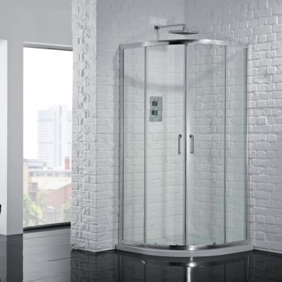 Aquadart Venturi 6 Double Quadrant Shower Door 800mm
