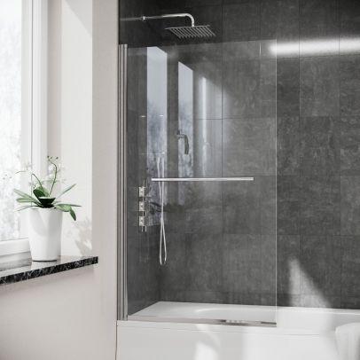 Denver 800mm Pivot Swing Door Shower Screen