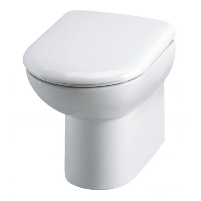 Linton Back To Wall Toilet Pan And Soft Close Seat