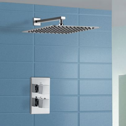 Moulin Thermostatic Waterfall Shower Mixer Tap