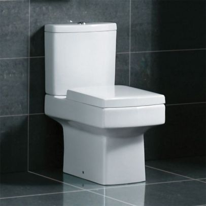 Embrace Close Coupled Toilet With Soft Close