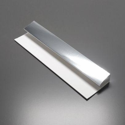 Silver 2700 mm x 6mm Starter/End Trim