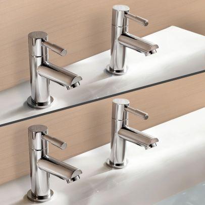 Marc Tap Set - Basin & Bath Taps