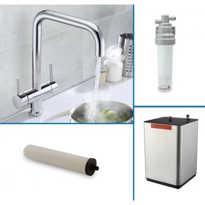 Tesa Instant Boiling Water Kitchen Tap (Includes Tap, Boiler + Filter)