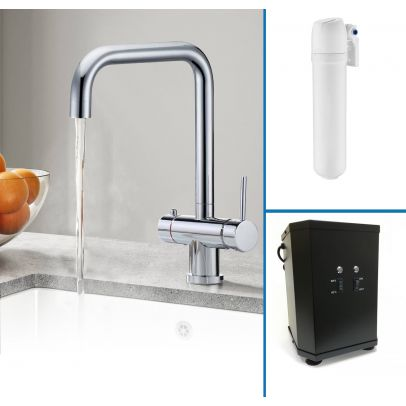 Elson Instant Boiling Water Kitchen Tap (Includes Tap, Boiler + Filter)