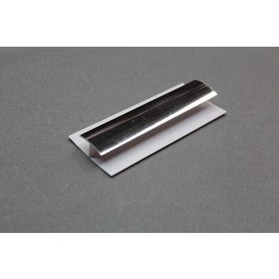 H Joint Chrome Ceiling Trim 2700mm X 5mm