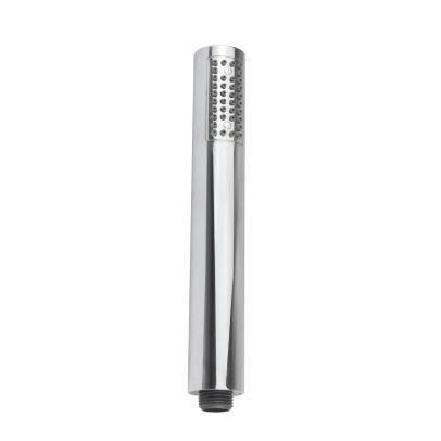 Round Chrome Handheld Handset Shower + Wall Outlet Elbow Bracket + 1.5M Pvc Hose