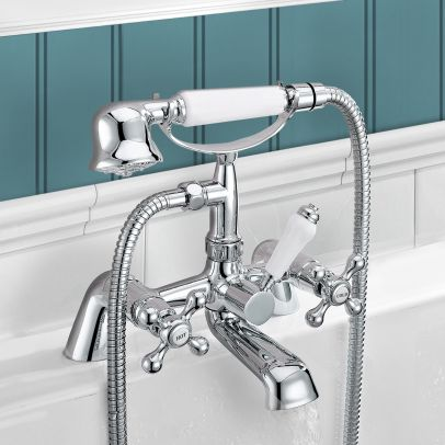 VICTORIAN BATH SHOWER MIXER