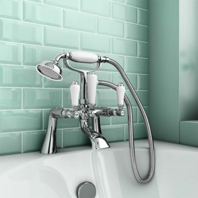 Imperior Traditional Freestanding Bath Shower Mixer Tap