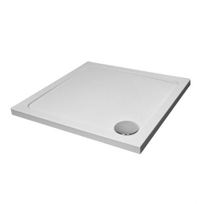 Small 700 x 700 Shower Tray Square Slimline Included