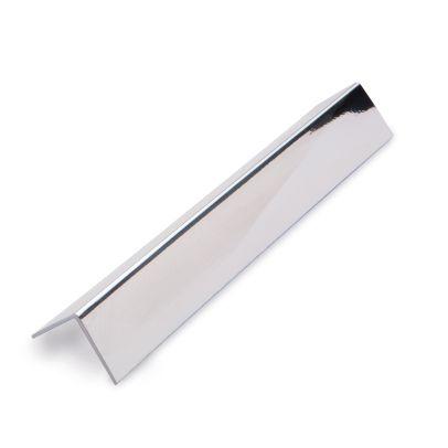 PVC L Shape External Corner Silver 2700mm Panelling Trim