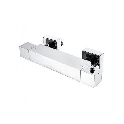 Oasis Thermostatic Shower Bar Mixer Valve & Slider Rail Handset