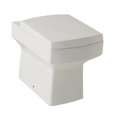 Embrace White Back to Wall WC Pan & Soft Close Seat