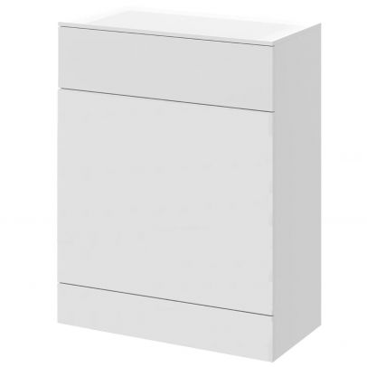 Back to Wall WC Toilet Unit 600mm Gloss White