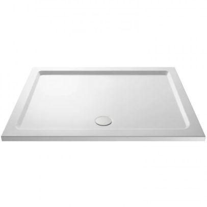 Slim 1700 X 900 Quadrant Stone Resin Shower Tray For Wetroom Enclosure
