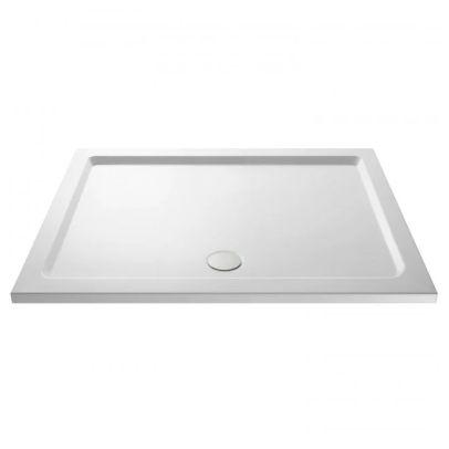 Slim 1700 X 760 Quadrant Stone Resin Shower Tray For Wetroom Enclosure