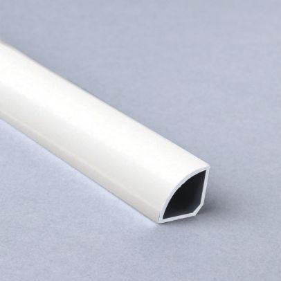 Retroft PVC Quarter Round White 2400mm panelling Trim