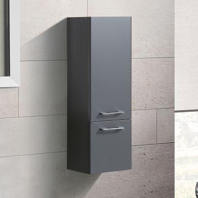 Lex 1000mm Wall Hung Storage Cabinet - Grey