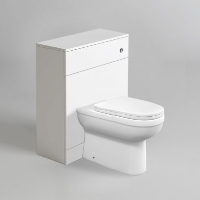 Melbourne Back To Wall Rimless WC Toilet Unit + Soft Close Seat