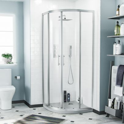Saturn Quadrant 800 Corner Shower Enclosure