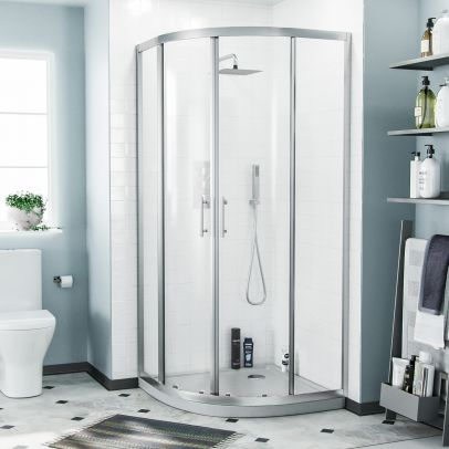 Saturn Quadrant 900 Shower Corner Cubicle Enclosure