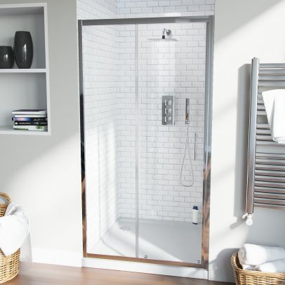 Saturn 1000 mm Shower Sliding Door