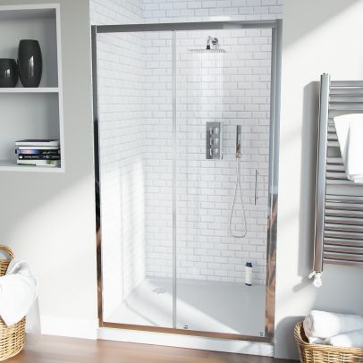 Saturn 1100 Sliding Door For Shower Enclosures