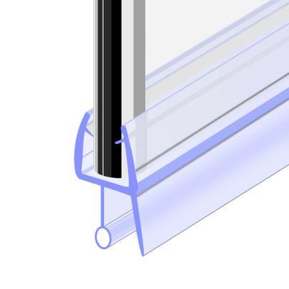 Seal 4 900 mm Glass Shower Door Rubber Seal Strip Gap 18 mm