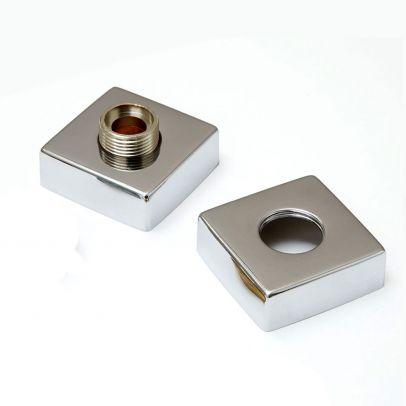 Concealing Round Universal Shower S-Union Fittings