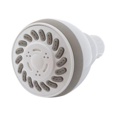 Bathroom Universal White Modern Overhead 3 Mode Function Shower Head - 70mm