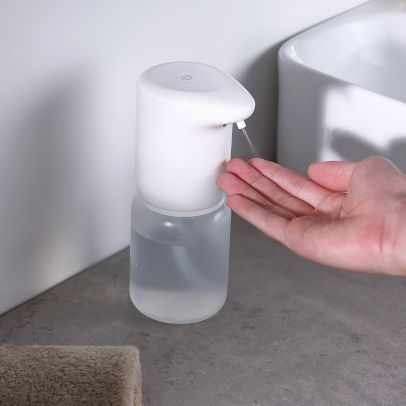 Touchless Spray Soap Dispenser Automatic IR Sensor Liquid Hand Washer