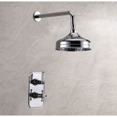 ALLOY 2 DIAL 1 WAY TRADITIONAL SET - SHOWER HEAD