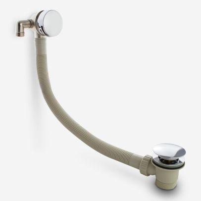 Bath Filler & Sprung Waste & Overflow