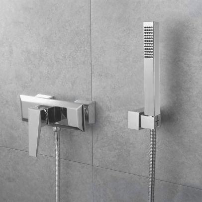 Drayton Bathroom Exposed Thermostatic Mixer Shower & Handset