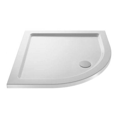 Slim 700 X 700 Quadrant Stone Resin Shower Tray For Wetroom Enclosure