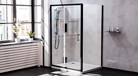 Black Matte Shower Enclosures