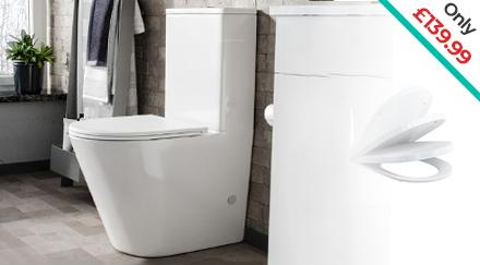 Oakham Close Coupled Toilet